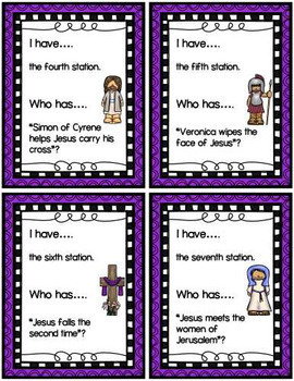 I Have....Who Has - Stations of the Cross