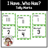 I Have...Who Has? Tally Mark Game