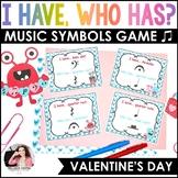 I Have…Who Has? Valentine's Day Music Symbols Game {46 Symbols}