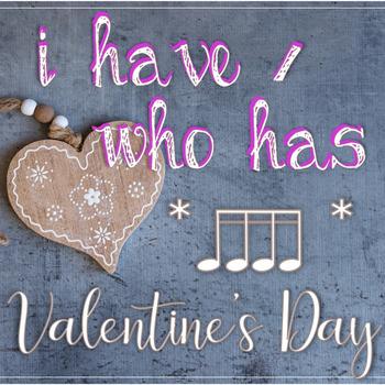 I Have...Who Has? Valentine's Rhythms - Tiri-Tiri