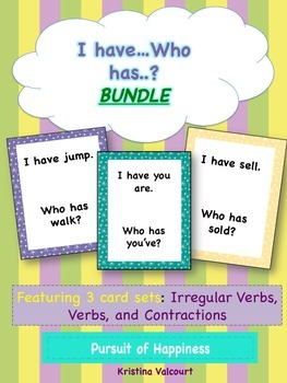 """I Have..Who Has..Game"" - Phonics BUNDLE"