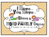I Have...You Have...A Short U Game