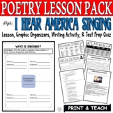 I Hear America Singing: Common Core Poetry Test Prep Lesso