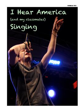I Hear America (and my classmates) Singing: Song Interpret