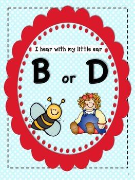 I Hear B or D: Initial Sound Discrimination