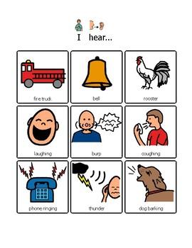 I Hear....Listening Activity