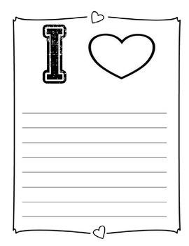 I Heart Books Valentine!