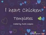 I Heart Chicken Freebies