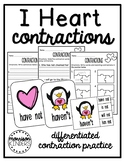 I Heart Contractions: Differentiated Contraction Practice