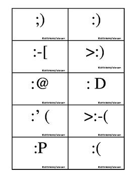 I Heart Emoticons! FREEBIE