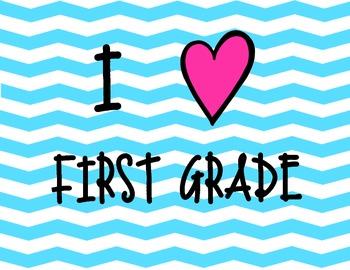 I Heart First Grade