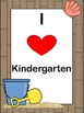 I Heart Grade Level Beach Posters for Classroom PreK-5 (6