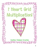 I Heart Grid Multiplication Unit (Area Model using expanded form)