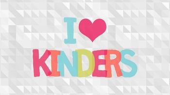 I Heart Kinders Desktop Wallpaper