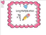 I Heart Long Multiplication: Two SMARTBoard Games