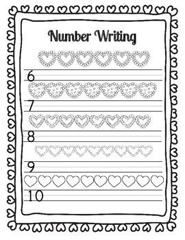 I Heart Math: Making Ten (Heart Themed Math Worksheets and Games)
