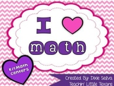 I Heart Math! {Valentine's Day Math Centers for K/1}