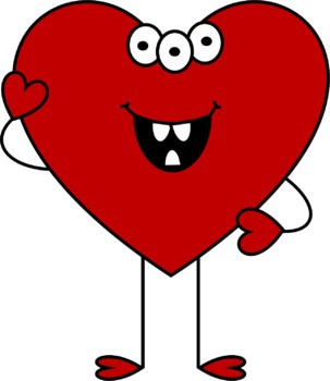 I Heart Monsters Clip Art