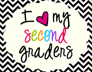 Image result for i love my second graders clipart