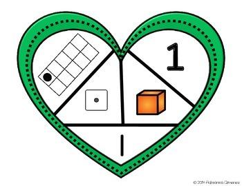 "I ""Heart"" Numbers! A kindergarten number sense freebie!"