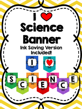 I Heart Science Banner
