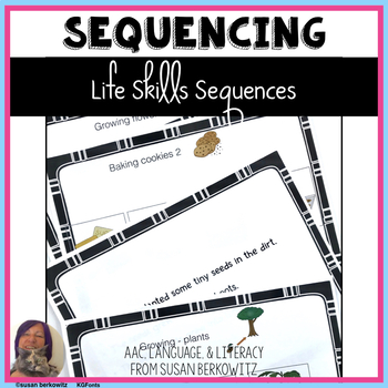 I Heart Sequences 2 for Life Skills Speech Therapy with Text revised!