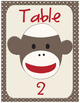 Sock Monkey Classroom Decor Bundle