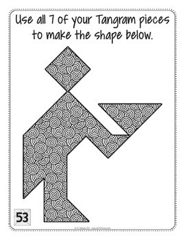 I Heart Tangrams  Math Centers