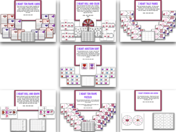 I Heart Valentines Day! A Valentine's Day Math & Literacy Creation
