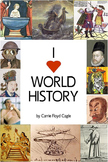 'I Heart World History' Textbook and Curriculum Info and Samples