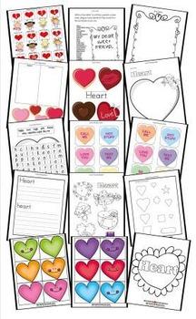 I Heart You Printables Assortment
