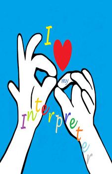 I Heart my INTERPRETER (poster)
