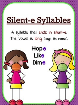 Teaching Syllables Types, Part 1: Open, Closed & Silent e