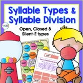 SYLLABLE TYPES & SYLLABLE DIVISION GAMES Open and Closed S