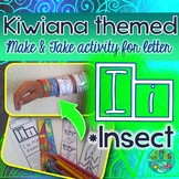 I = INSECT {Kiwiana Themed 'Make & Take' Alphabet Set}
