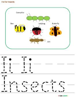 I Is For Insects by I CAN LEARN