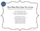 Testing Song Lyrics for Satisfaction