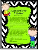 I Just Want to Do It My Way Activity Pack