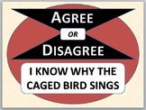 I KNOW WHY THE CAGED BIRD SINGS - Agree or Disagree Pre-reading Activity