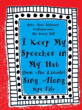 I Keep My Speeches In My Hat Sing Along mp4 File-(from Abe Lincoln)