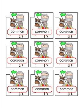 Common and Proper Noun File Folder Activity (CC Aligned)