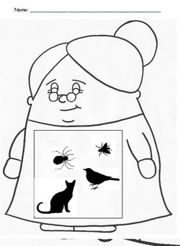I Know An Old Lady Who Swallowed A Fly: Craftivities and Worksheets