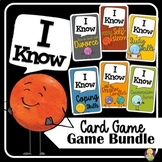 I Know Card Game Counseling Bundle | Social Emotional Learning
