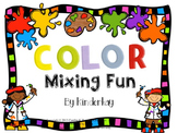 Color Mixing Fun! Let's Make a Book!