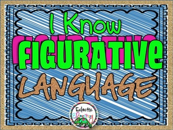 I Know Figurative Language Book
