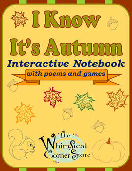 I Know It's Autumn Interactive Notebook