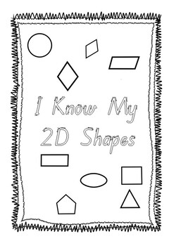 I Know My 2D Shapes - QLD Beginners Font