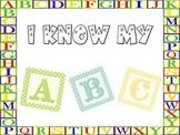 I Know My ABC, Appreciation Award / Certificate