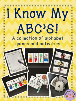 Alphabet Activities: I Know My ABC's
