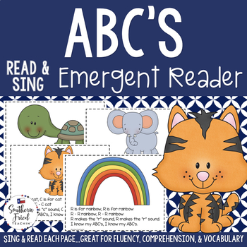 ABC's Shared Reading Read & Sing Early Reader